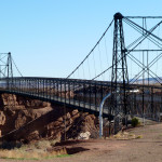 The old bridge at Cameron Trading Post