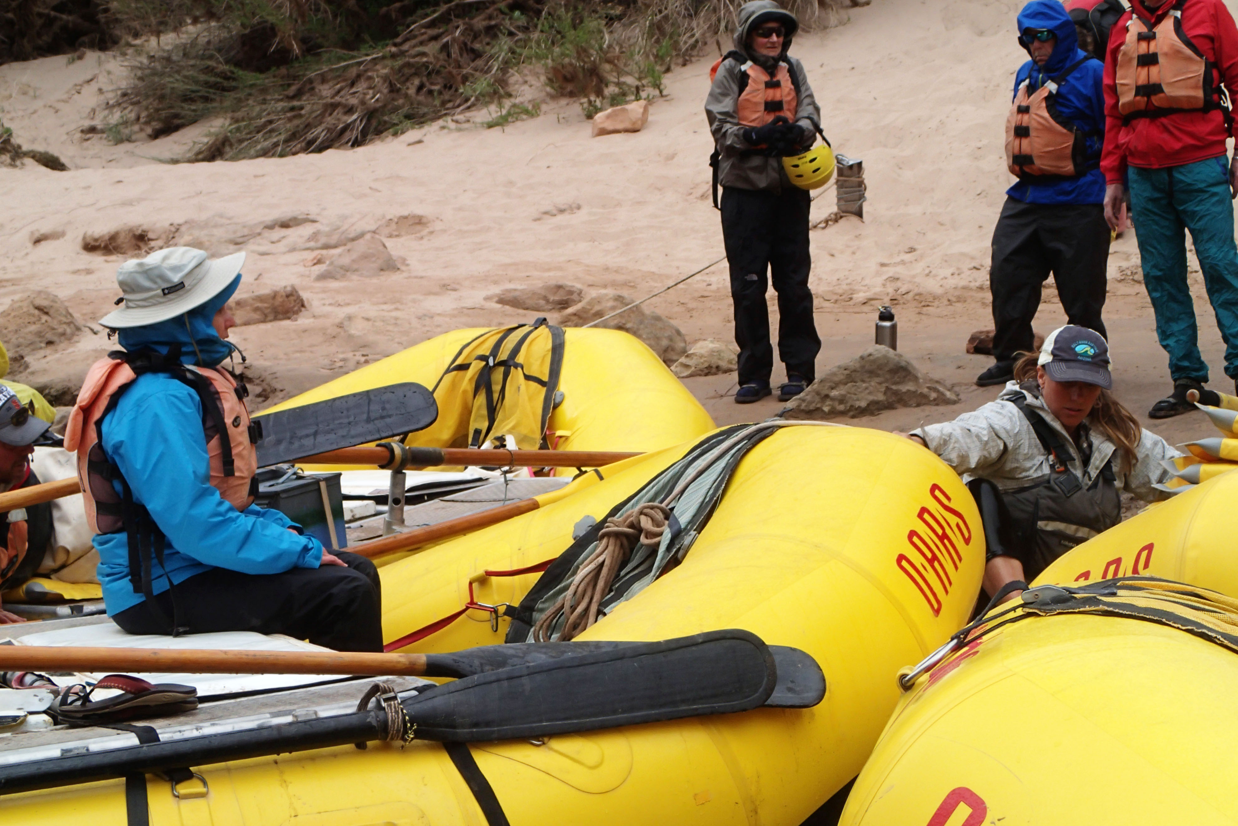 Rafting the Grand Canyon, April 2013, Day Two