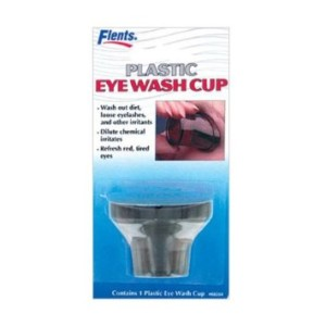A proper eye cup.  Bring your old glass version if you have one--this the the best out there now.