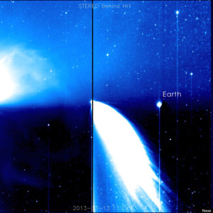 Comet Pan-STARRTS (courtesy of NASA)