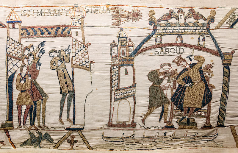 Comet Halley's Appearance Dooms King Harold in 1066