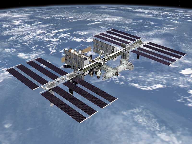 NASA's View of the ISS