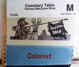 The Baycon 2014 Member Badge