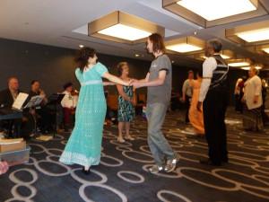 Regency dancers take over