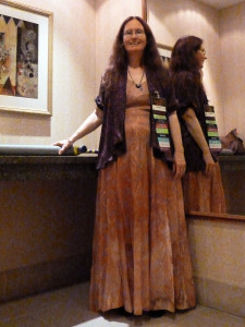 Costume Swap find, ready for Regency dancing.