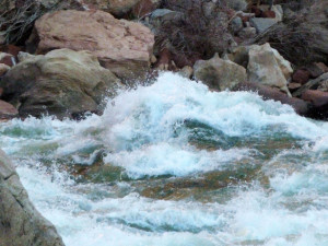 Standing Wave at Soap Creek