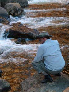 Clark at Soap Creek Rapid