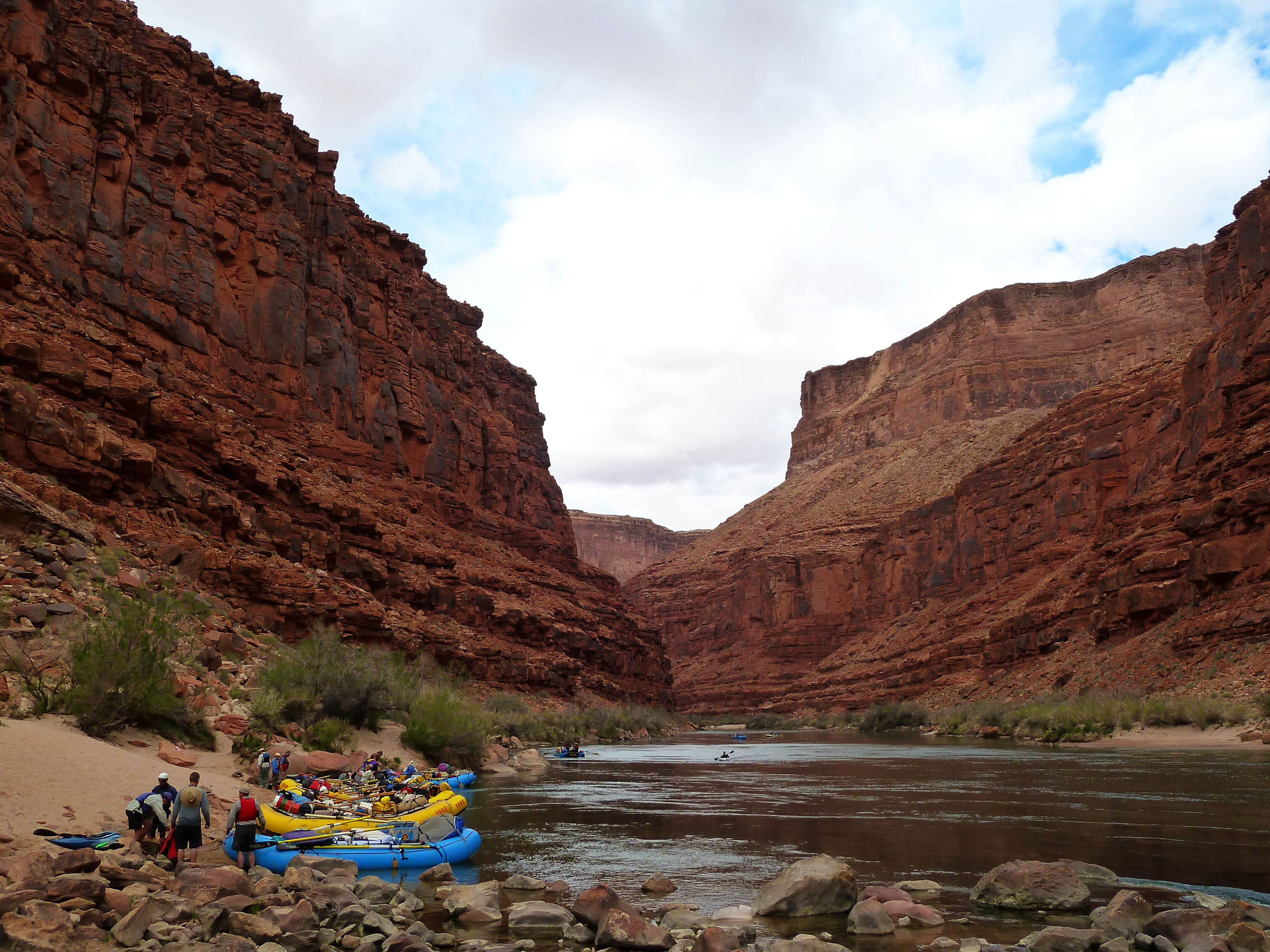 Rafting the Grand Canyon, April 2013, Day 2