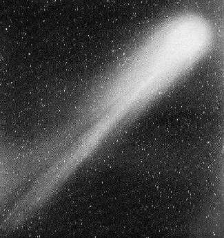 Comet Halley in 1986 (Courtesy of NASA)