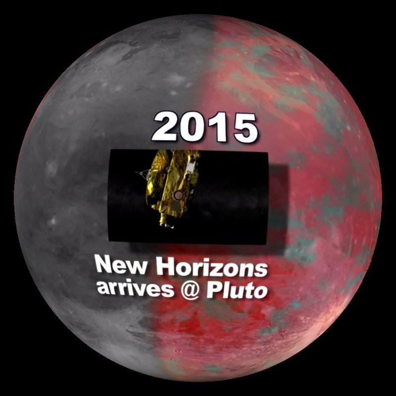 New Horizons Nears Pluto
