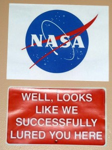 A Sign From NASA